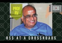 Prof RV explains why RSS is at the crossroads