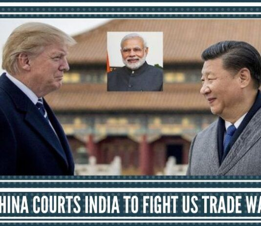 Misery Seeks Company – China Courts India to fight US Trade War