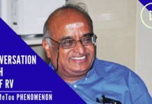 An in-depth conversation with Prof. R Vaidyanathan on #MeToo
