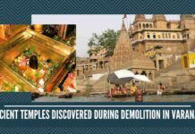 Ancient temples discovered during demolition in Varanasi