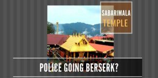 Is the CPI-M party attempting to self-destruct in the Sabarimala episode?