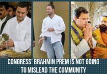 Congress' Brahmin prem is not going to mislead the community