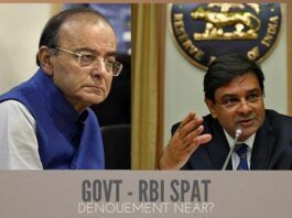 Govt.-RBI Spat. What are the ramifications?