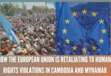 "The European Commission and the European External Action Service accused Myanmar of ""audacious violation of human rights"" in Myanmar"