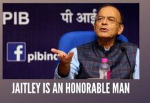 Everything that Jaitley says is contradicted by facts, but then he is an honourable man.