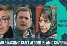 Jammu & Kashmir can't afford Islamic government