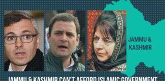 Jammu & Kashmir can't afford Islamic government