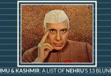 Jammu & Kashmir: A list of Nehru's 13 blunders