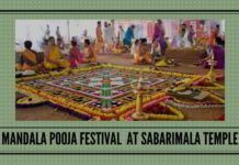 Ahead of Mandala Pooja festival Sabarimala temple presents the image of a battled scarred region