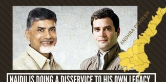 Naidu is doing a disservice to his own legacy by joining congress