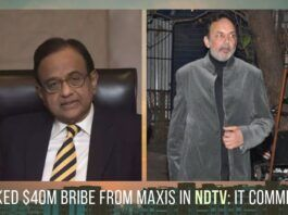 More evidence that P Chidambaram maybe the real owner of NDTV?
