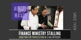 PM must intervene and direct Finance Ministry to sanction approval for prosecution of four IAS officers at once