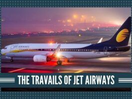 Jet Airways has recently defaulted on the rental payments on its leased aircraft.