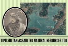 Tipu Sultan assaulted natural resources too