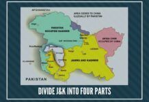 Divide J&K into four parts or let it remain under President's Rule