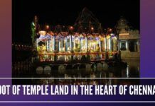 Temple land and idols being looted in the heart of Chennai - A mosque has come up in temple land