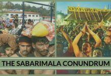 The whole Sabarimala episode has degenerated into a 'tamasha'