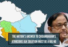 All in all, it can be said that P Chidambaram is playing with national security by endorsing the interlocutors' solution to Kashmir