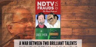 NDTV Frauds v2.0 by Sree Iyer - A Book Review