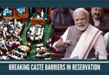 Breaking caste barriers in reservation