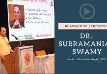 "Dr. Swamy explains why it was essential to establish DharmaWiki. The impact of Macaulay, Mueller and others who twisted the narrative to make ""brown sahibs"" has to be undone. This is one essential step. A must watch! #DharmaWiki #GrandIndiaRenaissance"