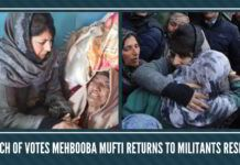 In search of votes Mehbooba Mufti returns to militants residences