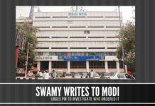 Swamy urges PM to get to the bottom of the matter of the CBDT circular that was issued to save the Gandhis in National Herald case