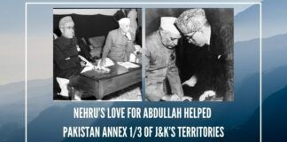 Nehru enabled Pakistan to achieve in J&K in 14 months what Mughals and Pathans couldn't between 1526 and 1819