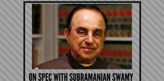 On spec with Subramanian Swamy
