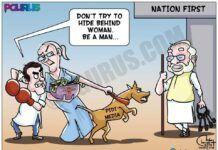 RaGa taunts PM Modi of hiding behind a woman BUT....