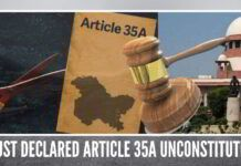 SC must declared Article 35A unconstitutional as it was applied to J&K without Parliament's approval