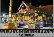 Hinduism moment of Draupadi Vastraharan