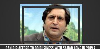 Can BJP afford to do business with Sajjad Lone in 2019 ?