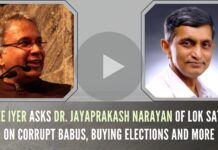 An in-depth discussion of why Dr. JP lost in the most educated constituency of India, his take on buying votes and much more. A must watch!