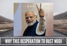 Why this desperation to oust Modi