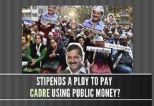 Stipends a new ruse by the AAP to pay the party cadres?