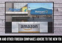 Amazon and other foreign companies adhere to the new FDI norms