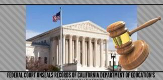 Federal Court Unseals Records of California Department Of Education's Religious Bias Scheme