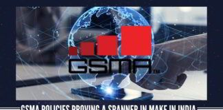 GSMA policies proving a spanner in Make in India, Digital India programme