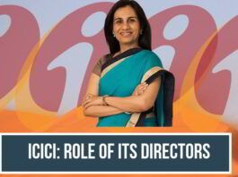 ICICI: Role of its Directors