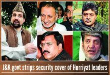 The state government was spending crores of rupees every year while ensuring the safety of these separatists leaders.