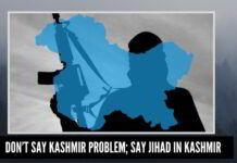 Don't say Kashmir problem; say jihad in Kashmir