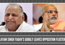 Mulayam Singh Yadav's googly leaves Opposition flustered