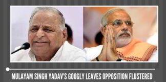 Mulayam Singh Yadav's googly leaves Opposition flustered