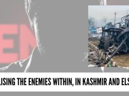 Neutralising the enemies within, in Kashmir and elsewhere
