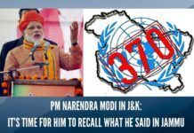 PM Narendra Modi in J&K: It's time for him to recall what he said in Jammu on Dec 1, 2013 about divisive Article 370