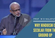 With Prof M D Nalapat on why Hinduism is Secular from the ground up