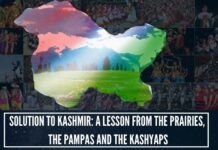 """Solution to Kashmir: A Lesson From The Prairies, the Pampas and the Kashyaps"""