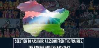 """""""Solution to Kashmir: A Lesson From The Prairies, the Pampas and the Kashyaps"""""""