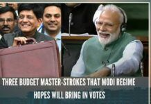 The budget presented on Friday by Piyush Goyal turned has energized the BJP-led NDA Govt ahead of the elections and left the Opposition fuming.